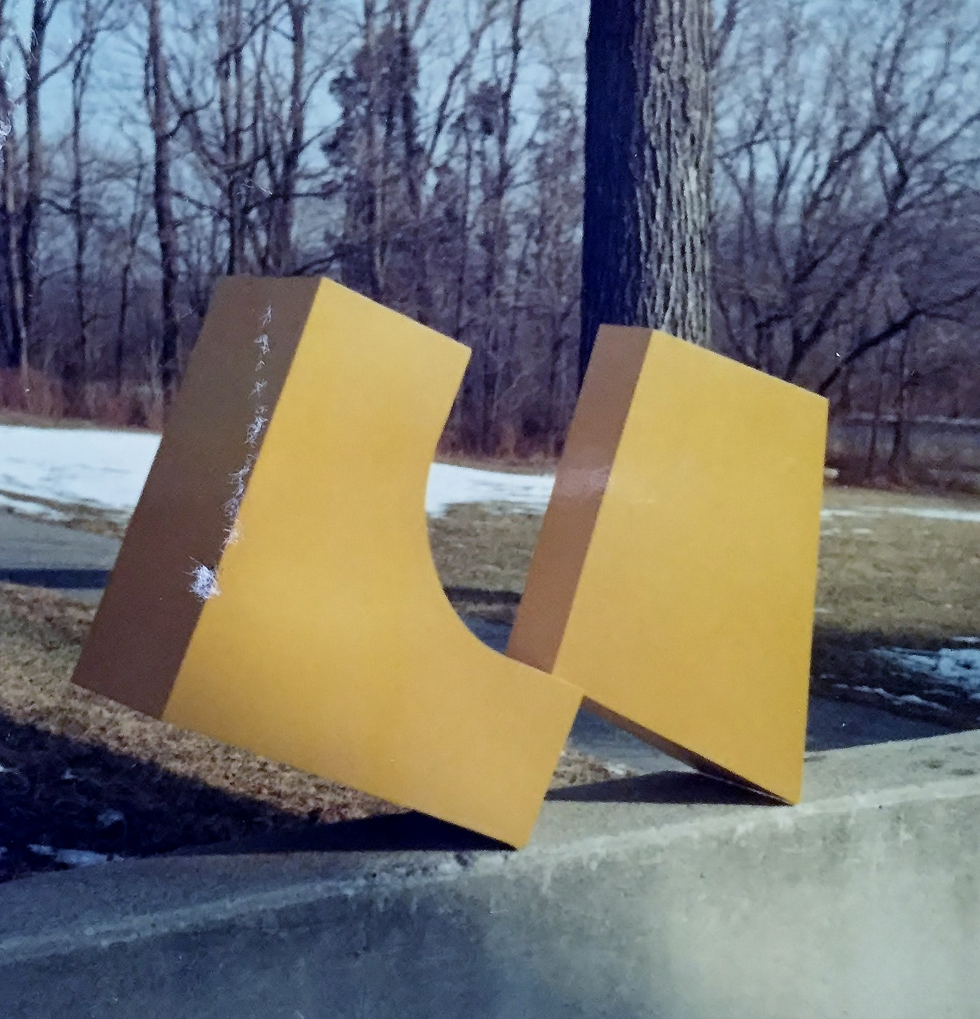 David Smalley Sculpture Trail: A joint venture of Connecticut College and the Lyman Allyn Art Museum
